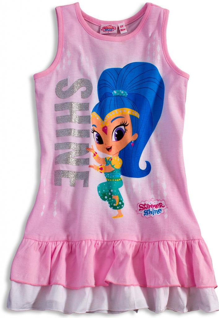670fab60dbd0 Dievčenské letné šaty SHIMMER   SHINE SHINE ružová - Zoznamtovaru.sk