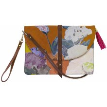 Disaster 1916 Clutch Light Brown/Multicolor