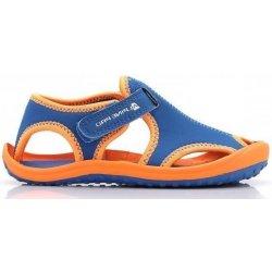 ALPINE PRO Detské sandále Punit oranžovo-modré od 14 d24c6f09eb5