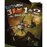 Earthworm Jim 1 + 2 The Whole Can 'O Worms
