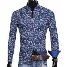30016-EM-360 Trendová pánska košeľa EGO MAN