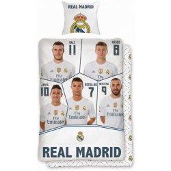 c0d1fe2144c1a Faro Obliečky Real Madrid hráči Bavlna 140x200 70x90 alternatívy ...