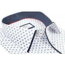 3907342451c6 Beva Klasik Bielo-modrá košeľa s dlhým rukávom