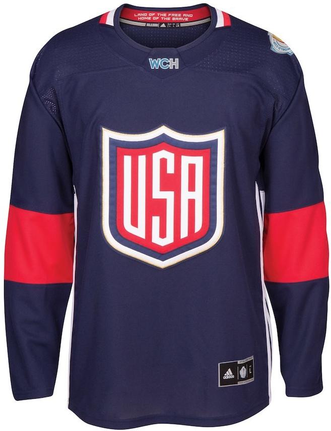 cc93e3f2a40a3 Hokejový dres Adidas Dres Team USA 2016 World Cup Of Hockey Premier ...