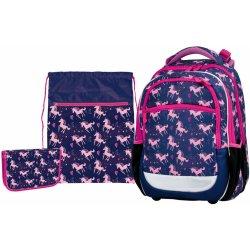 b8992d85a6 Stil školský batohový set Pink Unicorn 3-dielny od 79