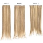 SANGRA HAIR TWENTYMEMORY 3 KUSY - BLOND 1001
