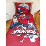 Jerry fabrics obliečky Spiderman 2013 červený bavlna 140x200 70x90