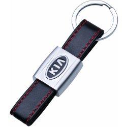 Prívesok na kľúče KIA s červeným prešitím od 6 4f1e635c245