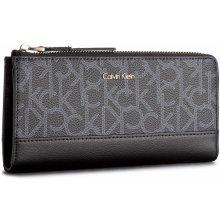 Calvin Klein Veľká peňaženka Dámska Frame Large Ziparoun K60K604173 001 1761abd8053