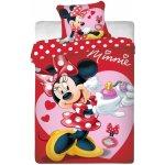 Jerry Fabrics Obliečky Minnie voňavka bavlna 140x200 70x90