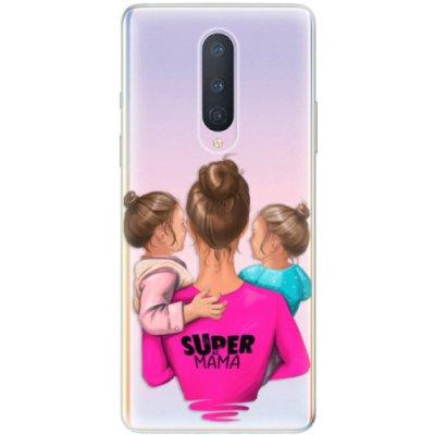 Púzdro iSaprio - Super Mama - Two Girls - OnePlus 8