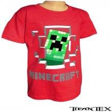 1bd439591c90 Tričká a košele Tricko Minecraft detske - Heureka.sk
