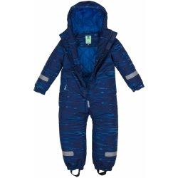 G-mini Kombinéza zimná kojenecká Bagel chlapec modrá