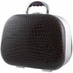 Hairway Dámsky kozmetický kufrík krokodílej kože čierny 28553-02