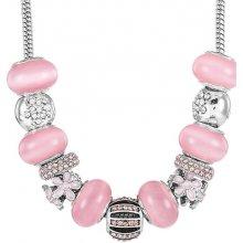 Diamond Style Dámsky náhrdelník TREASURENECKPASTEL