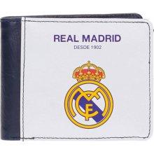 JOUMMABAGS Peňaženka Real Madrid white 10x8 cm
