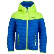 Alpine Pro chlapčenská bunda Barokko modro-žltá