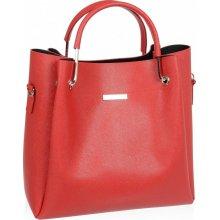 Grosso elegantná dámska kabelka S728 Červená 9ffc835d82d