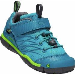 9dfe1ad342194 Keen Chlapčenské outdoorové topánky Chandler CNX Children Tahitian Tide /  Bright Green modro zelené