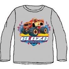 E plus M Chlapčenské tričko Blaze - sivé