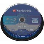 Verbatim BD-R 50GB 6x, 10ks