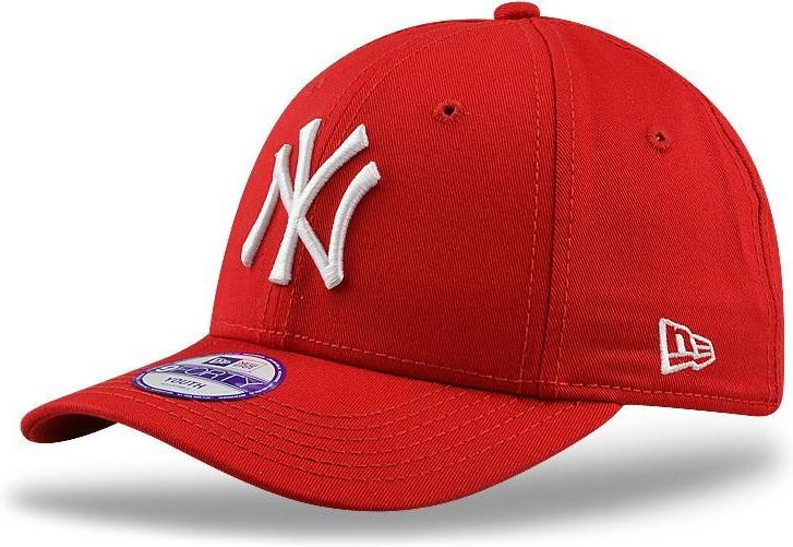 New Era 39thirty MLB League Basic NY Yankees Scarlet White 27ca98d40e