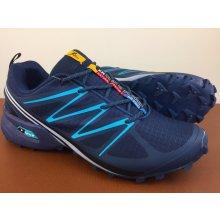 Pánska trailová obuv 3096M1 Navy Fialová (Navy)