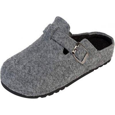 Dámske zdravotné papuče BZ155 sivé