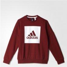 Adidas Yb Logo Crew BP8766 červená