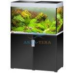 Eheim Incpiria 300 akvárium so skrinkou a osvetlením, čierny lesk/strieborná 300 l