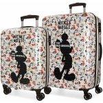 76e537056d JOUMMABAGS Sada cestovných kufrov ABS Mickey True Original ABS plast