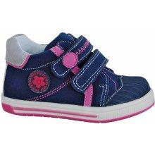 4de8ac48f2f5 Protetika dievčenské členkové topánky Albra modré