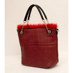 štýlová kabelka s kožušinou alternatívy - Heureka.sk 10c69ab8a52