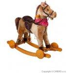 BAYO Hojdací koník na kolieskach Endy béžový