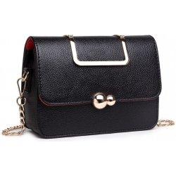 kabelka malá satchel eko kožená čierna alternatívy - Heureka.sk 929a23b2092
