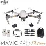 DJI Mavic Pro Platinum, Fly More Combo, 4K kamera - DJIM0252C