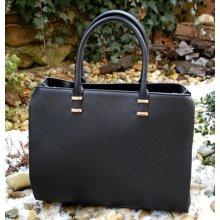 7bd488e88d kabelka veľká kufríková biznis čierna