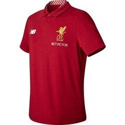 New Balance Liverpool FC polokošeľa pánska červená alternatívy ... a37e9e1e76