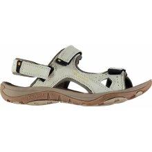 Karrimor Antibes Ladies Leather Walking Sandals Beige ef9cc725f6a