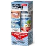 Fito kosmetik Zubný prášok vo forme pasty na bajkalskom modrom íle 3D Trojrozmerné bielenie Ochrana zubnej skloviny 45 ml
