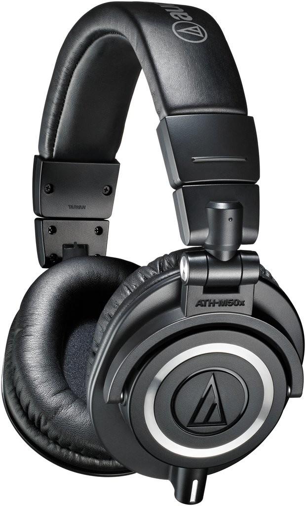 Náhlavné (veľké oblúkové) slúchadlá Audio-Technica ATH-M50x