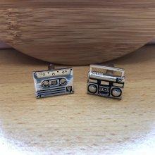 Manzetky.sk manžetové gombíky Magnetofón M01118