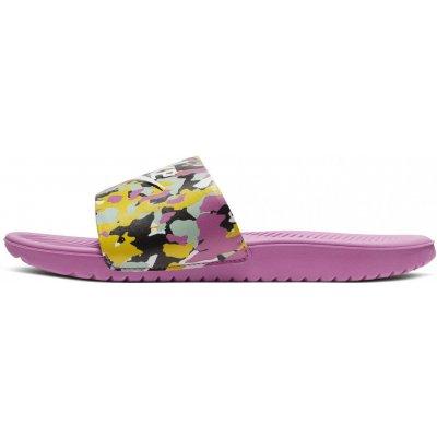 Nike dievčenské šľapky Kawa SE MC CN7430 600 fialová