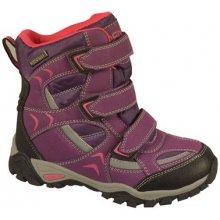 46a229c0d1177 Peddy Dievčenské outdoorové topánky s membránou fialové
