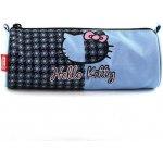 Školský peračník Hello Kitty modrý, motív kvetín