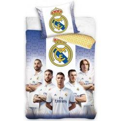 4667285532876 Carbotex obliečky Real Madrid 2017 bavlna 70x80 140x200 alternatívy ...