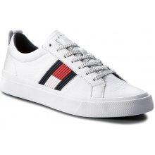 5c5688b55e Tommy Hilfiger biele pánske tenisky Essential Flag Detail Sneaker White