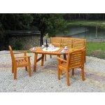 zahradní židle, křeslo EDEN dřevěná