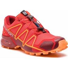 SALOMON Speedcross 4 404657 27 V0 High Risk Red Red Dahlia Tangelo 338cd6bd483