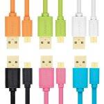Axagon BUMM-AM02QO Micro USB 2A, 0,2m, oranžový
